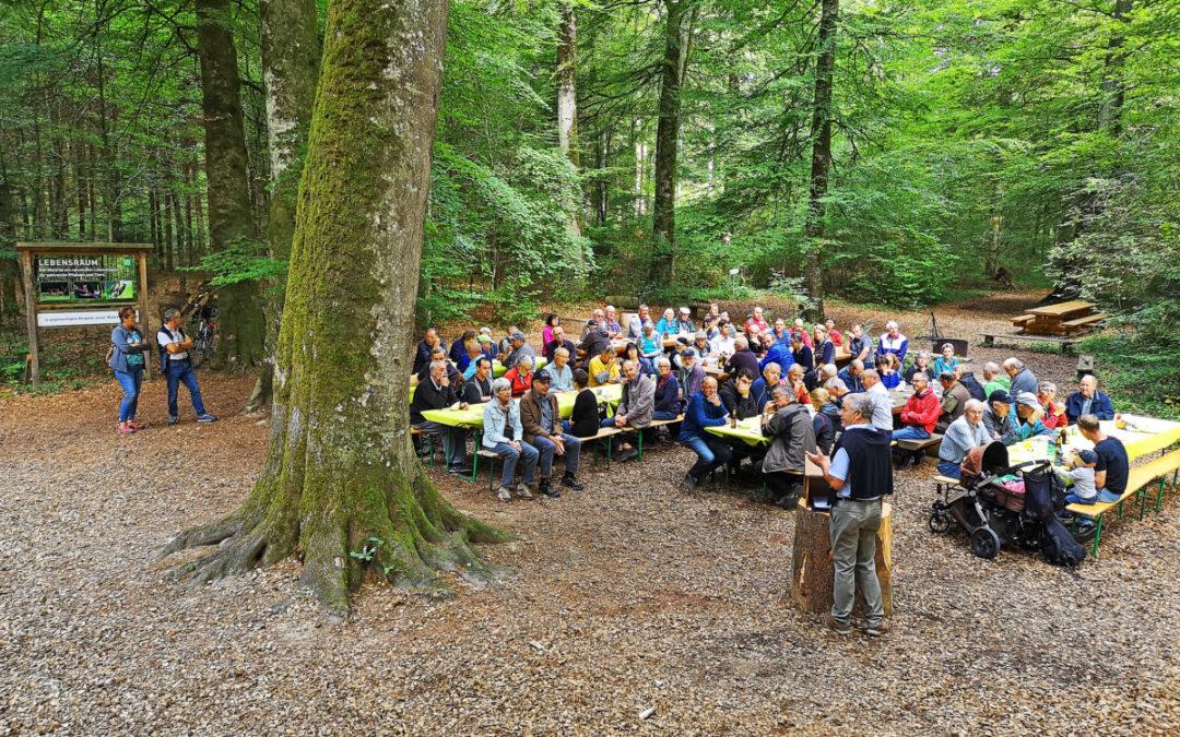 Ein Waldparcours zum 40. Geburtstag