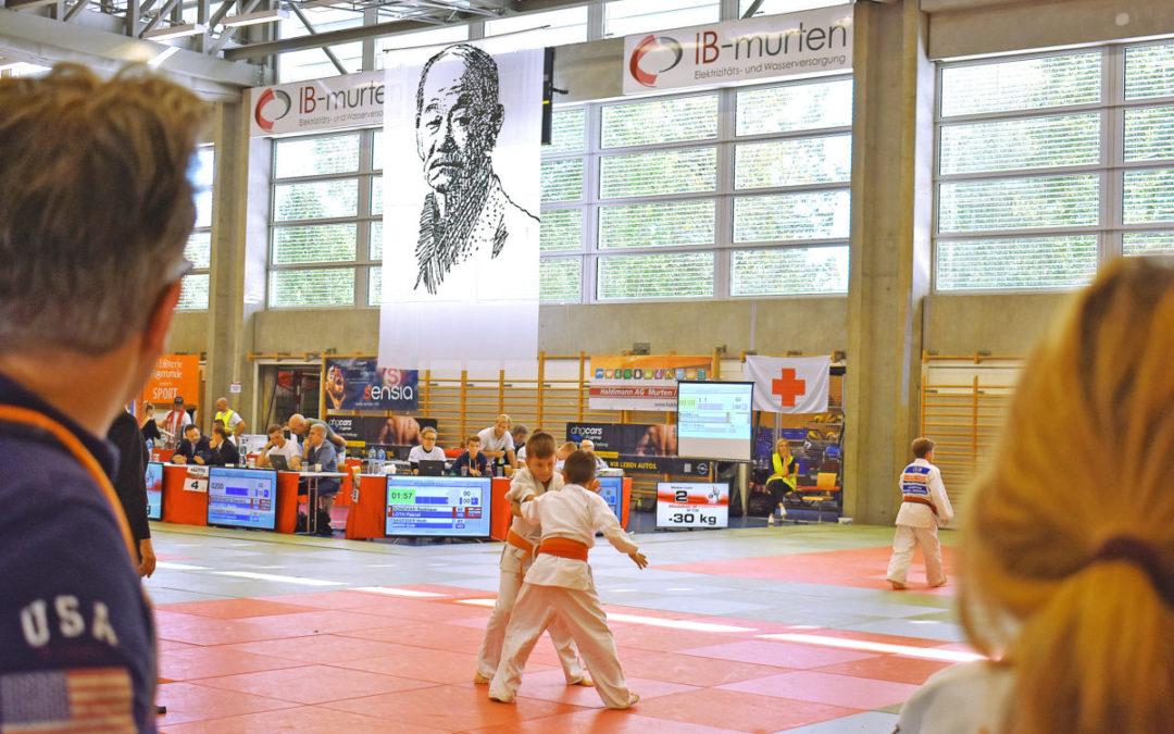 Illustres Publikum am Judoturnier in Murten