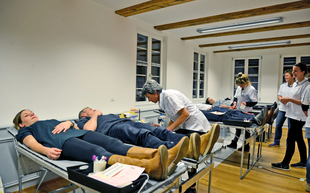 Erfolgreiche Blutspende-Aktion in Salvenach