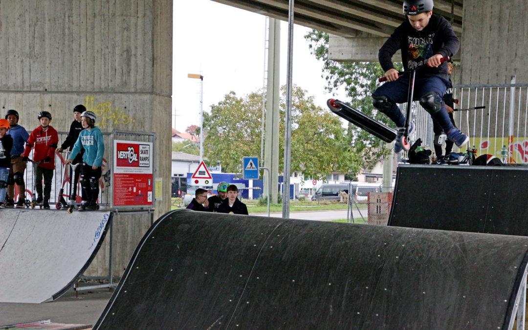 Das Projekt Skatepark ist abgeschlossen