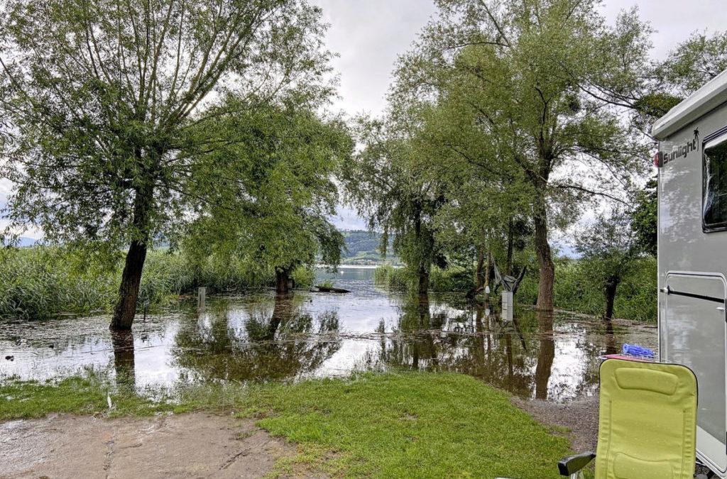 Das Hochwasserrisiko bleibt bestehen