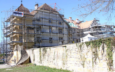 Das Schloss Löwenberg wird saniert